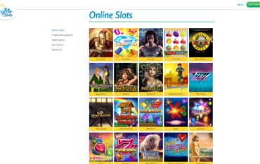 LuckyMe Slots-games selection