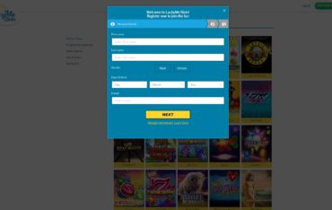 LuckyMe Slots-sign up