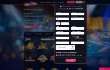 Vegas Plus-sign up