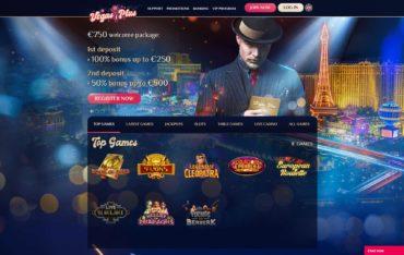 Vegas Plus-website review