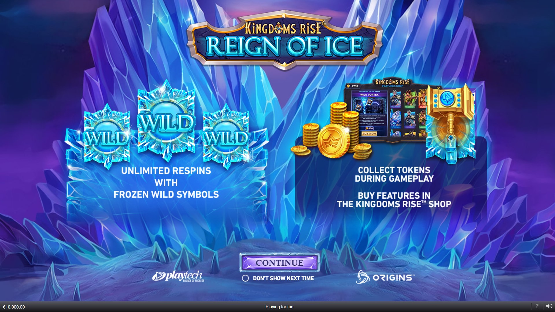 Spiele Kingdoms Rise: Reign Of Ice - Video Slots Online