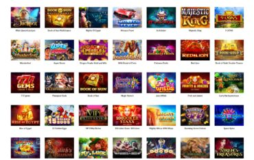 Casino Super Wins-games selection