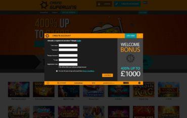 Casino Super Wins-sign up