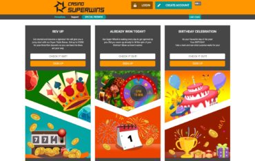 Casino Superwins-promotions