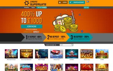 Casino Superwins-website review