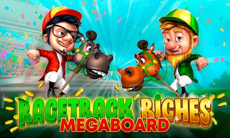 Race Track Riches Megaboard Slot