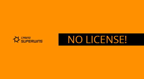 casino superwins scam and no license