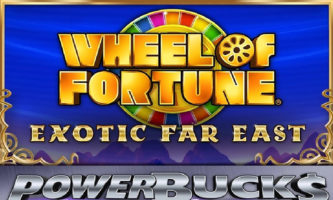 powerbucks wheel of fortune exotic far east slot
