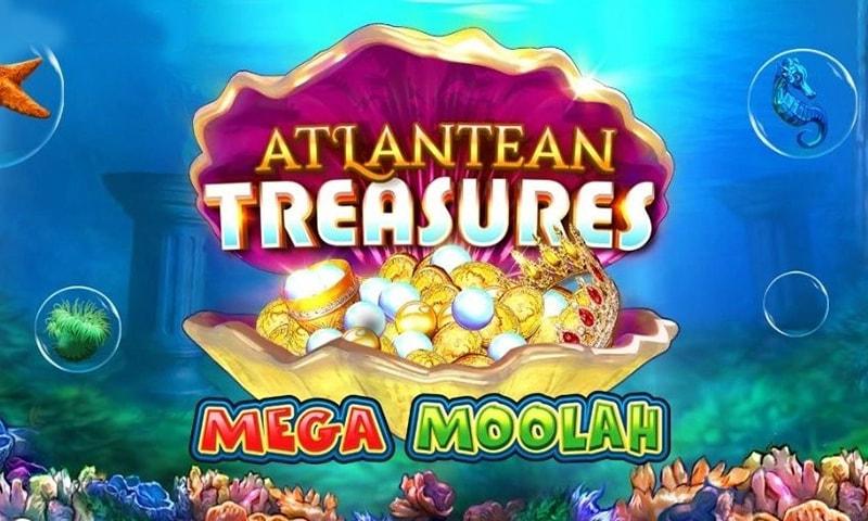 atlantean treasures mega moolah slot