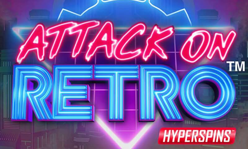 attack on retro slot