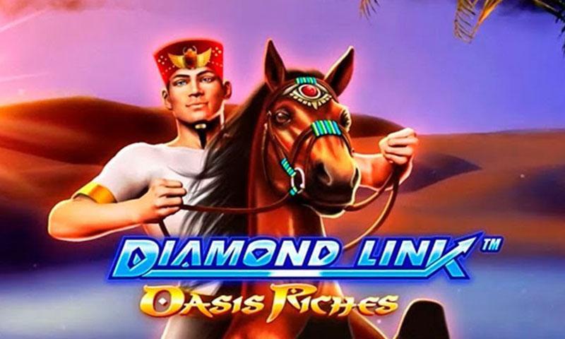 diamond link oasis riches slot