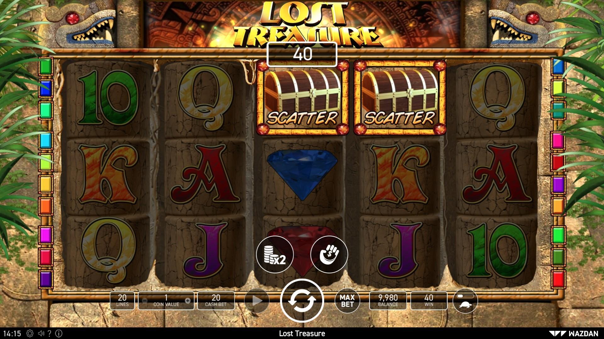 Lost treasure games free online