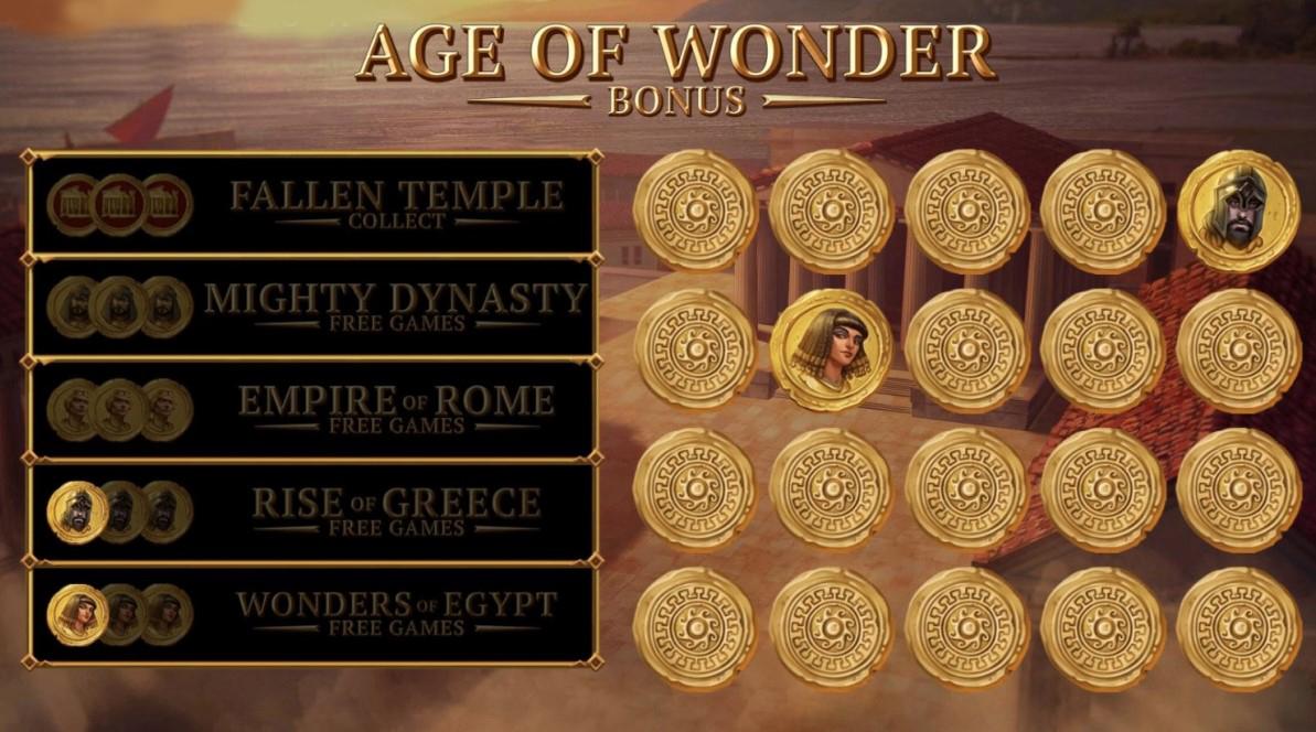 Spiele Wonder Of Ages - Video Slots Online