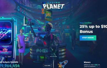 Casinoplanet.com - Website Review
