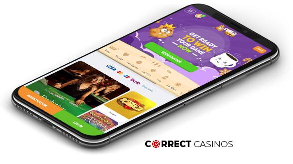 Cookie Casino - Mobile Version