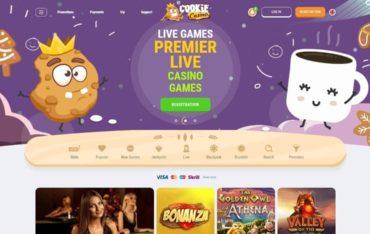 CookieCasino.com - Website Review