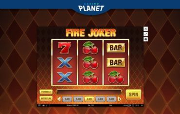 Game Play at Casino Planet