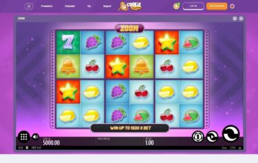 Game Play at Cookie Casino