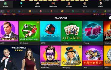 Games at Betamo Casino