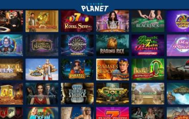 Games at Casino Planet