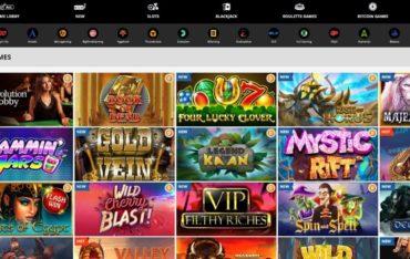 Games at Playamo Casino