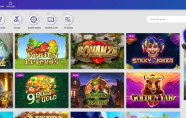 Games at Playluck Casino