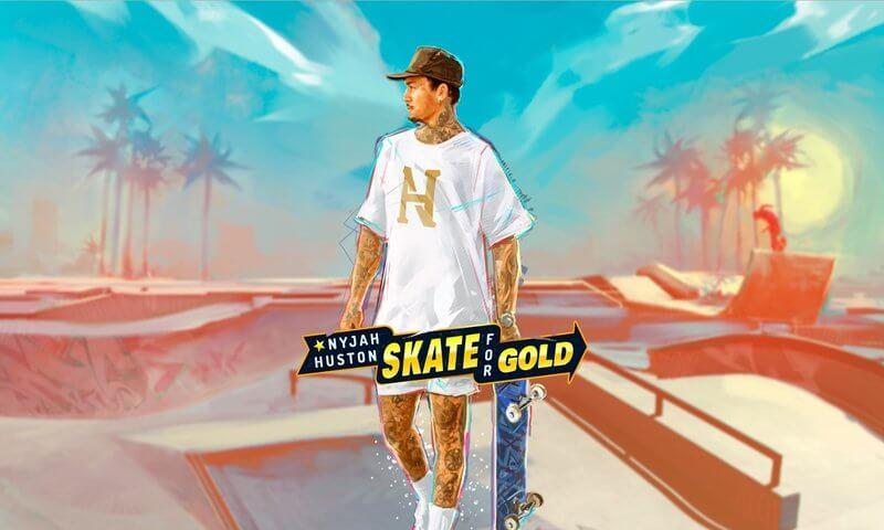Nyjah Huston Skate For Gold Slot