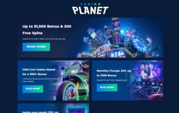 Promotions at Casino Planet