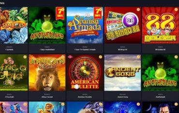 Games at Woo Casino