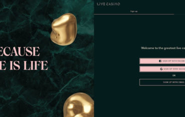 Sign Up at Live Casino