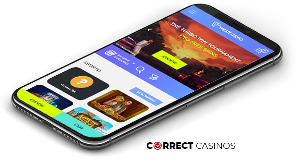 West Casino - Mobile Version