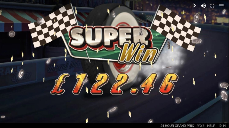 24 Hour Grand Prix Slot Machine