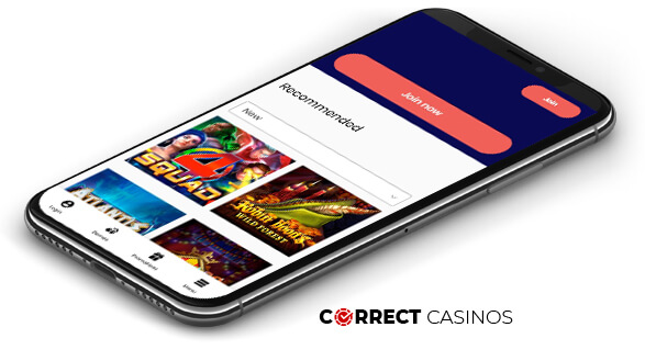 AgentSpinner Casino - Mobile Version
