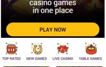 Beespins Casino - Mobile Version