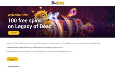 Beespins Casino - Welcome Bonuses
