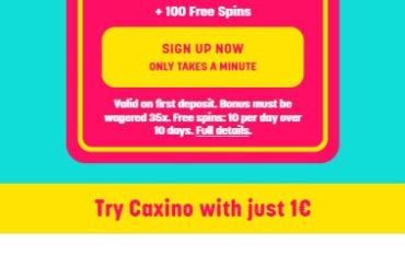 Caxino Casino - Mobile Version