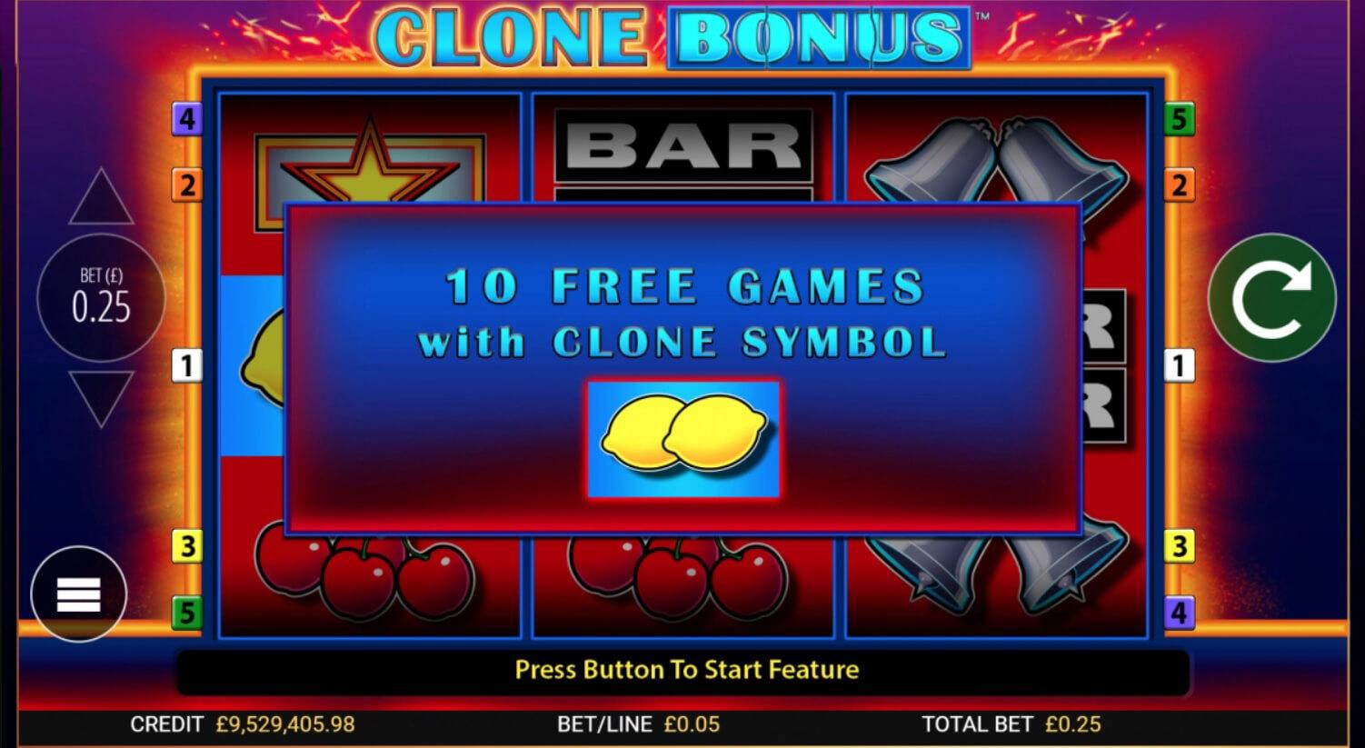 Online Casino Clone Bonus