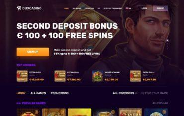Duxcasino.com - Website Review