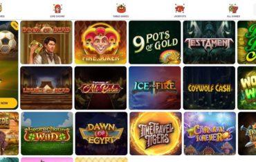 Games at Beespins Casino