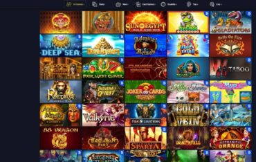 Games at Getslots Casino