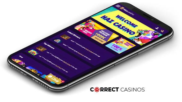 az Casino - Mobile Version