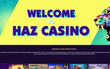 Hazcasino.com - Website Review