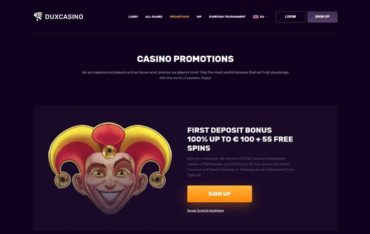 Promotions at Dux Casino
