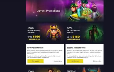 Promotions at Getslots Casino