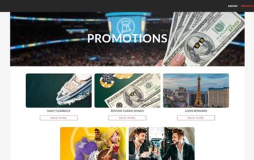 Promotions at JacksPay Casino