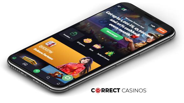 Slothunter Casino - Mobile Version