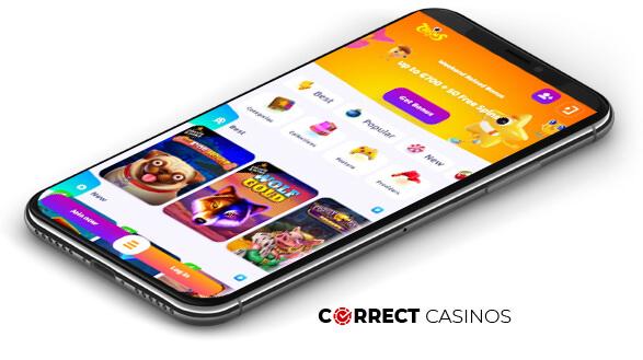 7Signs Casino - Mobile Version