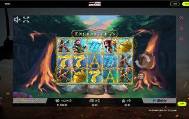 Game Play at Spin Samurai Casino