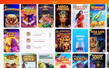 Games at 7signs Casino