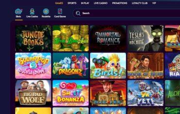 Games at Casino360